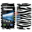 For Motorola Atrix 4G MB860 Cover Hard Case Zebra