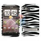For HTC ThunderBolt Cover Hard Case Zebra