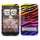 For HTC ThunderBolt Cover Hard Phone Case C-Zebra ( ADR6400 )