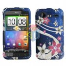 FOR HTC Incredible S Cover Hard Phone Case G-Flower