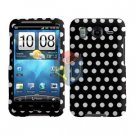 FOR HTC Inspire 4G Cover Hard Phone Case Polka Dot
