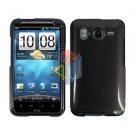 FOR HTC Desire HD Cover Hard Phone Case Carbon Fiber