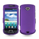 For Samsung Gem i100 Cover Hard Phone Case Rubberized Purple