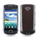 For Samsung Gem i100 Cover Hard Phone Case Transperant Clear