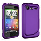 FOR HTC Incredible S Cover Hard Phone Case Purple