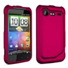 FOR HTC Incredible S Cover Hard Phone Case R-Pink