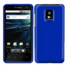 For LG T-Mobile G2x Cover Hard Case Rubberized Blue