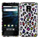 For LG T-Mobile G2x Cover Hard Case Rubberized R-Leopard