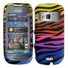 For Nokia C7-00 Cover Hard Case C-Zebra