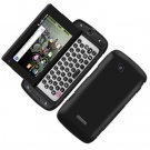 For Samsung Sidekick 4G T839 Cover Hard Phone Case Rubberized Black