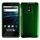 For LG T-Mobile G2x Cover Hard Case Rubberized Green