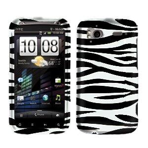 FOR HTC Sensation 4G Cover Hard Phone Case Zebra