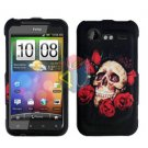 FOR HTC Droid Incredible 2 Cover Hard Phone Case R-Skull