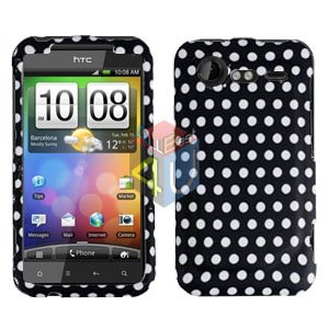 FOR HTC Droid Incredible 2 Cover Hard Phone Case Polka Dot