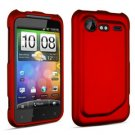 FOR HTC Droid Incredible 2 Cover Hard Phone Case Red