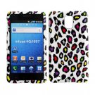 For Samsung Infuse 4G Cover Hard Case R-Leopard +Screen Protector