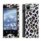 For Kyocera Echo M9300 Cover Hard Case R-Leopard