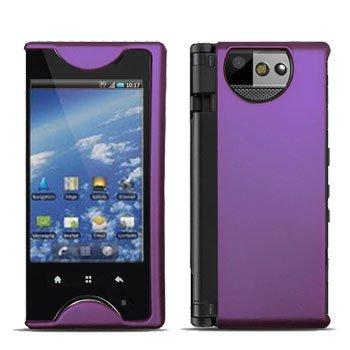 For Kyocera Echo M9300 Cover Hard Case Rubberized Purple
