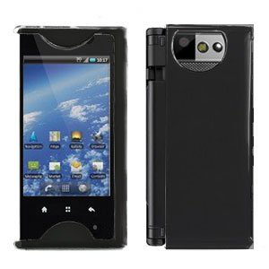 For Kyocera Echo M9300 Cover Hard Case Rubberized Black