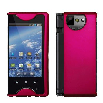 For Kyocera Echo M9300 Cover Hard Case Rubberized Rose Pink