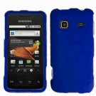 For Samsung Galaxy Prevail Cover Hard Case Rubberized Blue