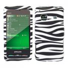 For Samsung Galaxy Prevail Cover Hard Case Zebra