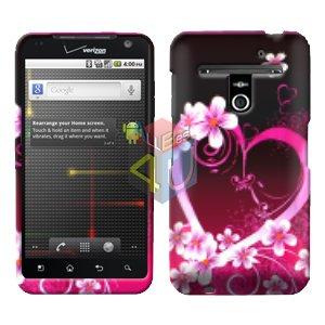 For LG Revolution VS910 Cover Hard Case Love