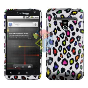 For LG Revolution VS910 Cover Hard Case R-Leopard