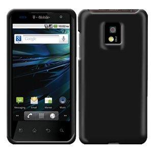 For LG Optimus 2x P990 Cover Hard Case Rubberized Black