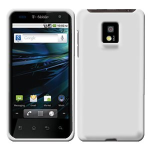 For LG Optimus 2x P990 Cover Hard Case Rubberized White