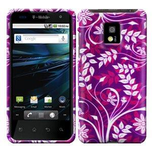 For LG Optimus 2x P990 Cover Hard Case P-Flower