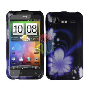 FOR HTC Incredible S Cover Hard Phone Case B-Flower