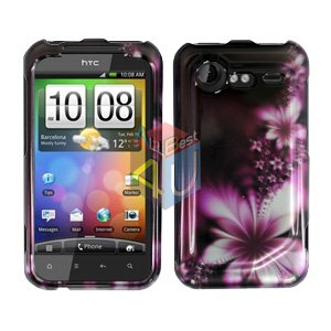 FOR HTC Incredible S Cover Hard Phone Case L-Flower