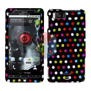 For Motorola Milestone X Cover Hard Case R-Dot