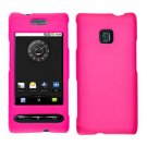 For LG Optimus GT540 Cover Hard Case Rubberized H-Pink