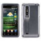For LG Thrill 4G / Optimus 3D P920 Cover Hard Case Transperant Clear