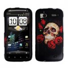 FOR HTC Sensation 4G Cover Hard Phone Case R-Skull