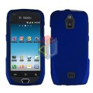 For Samsung Exhibit 4G Cover Hard Case Rubberized Blue ( SGH-T759 )
