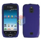 For Samsung Exhibit 4G Cover Hard Case Rubberized Purple ( SGH-T759 )