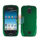 For Samsung Exhibit 4G Cover Hard Case Rubberized Green ( SGH-T759 )
