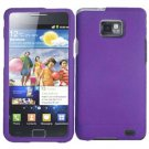 For Samsung Galaxy S II i9100 Cover Hard Case Purple
