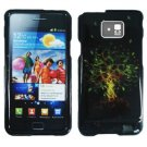 For Samsung Galaxy S II i9100 Cover Hard Case Wish Tree