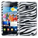 For Samsung Galaxy S II i9100 Cover Hard Case Zebra