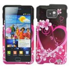 For Samsung Galaxy S II i9100 Cover Hard Case Love