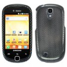 For Samsung Gravity Smart / Galaxy Q SGH-T589 Cover Hard Case Carbon Fiber