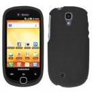 For Samsung Gravity Smart / Galaxy Q SGH-T589 Cover Hard Case Black
