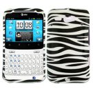 For HTC Status / ChaCha Cover Hard Case Zebra