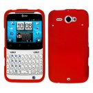 For HTC Status / ChaCha Cover Hard Case Red
