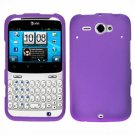 For HTC Status / ChaCha Cover Hard Case Purple