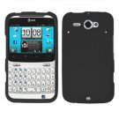 For HTC Status / ChaCha Cover Hard Case Black